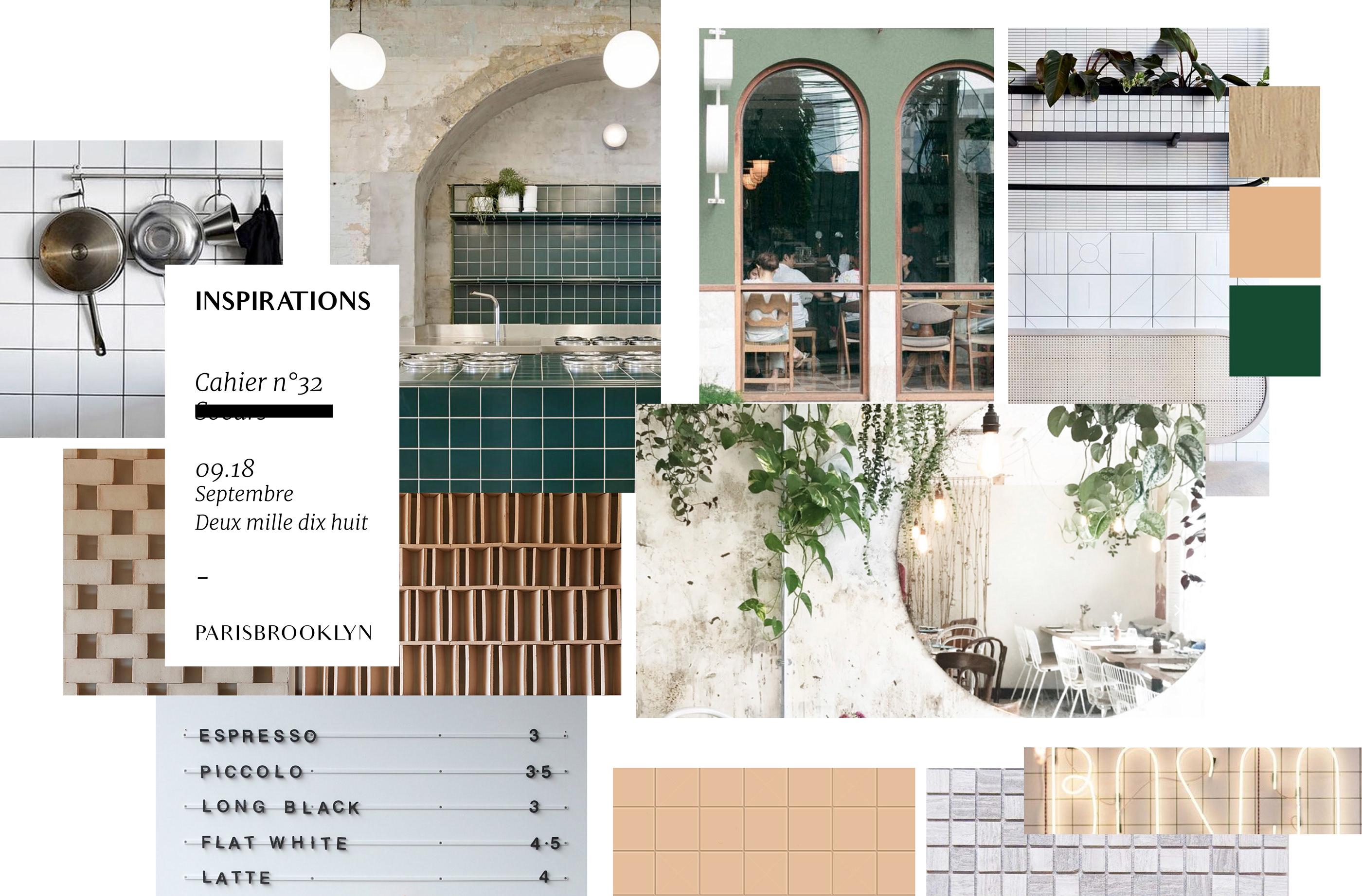 ParisBrooklyn Soeurs café inspirations
